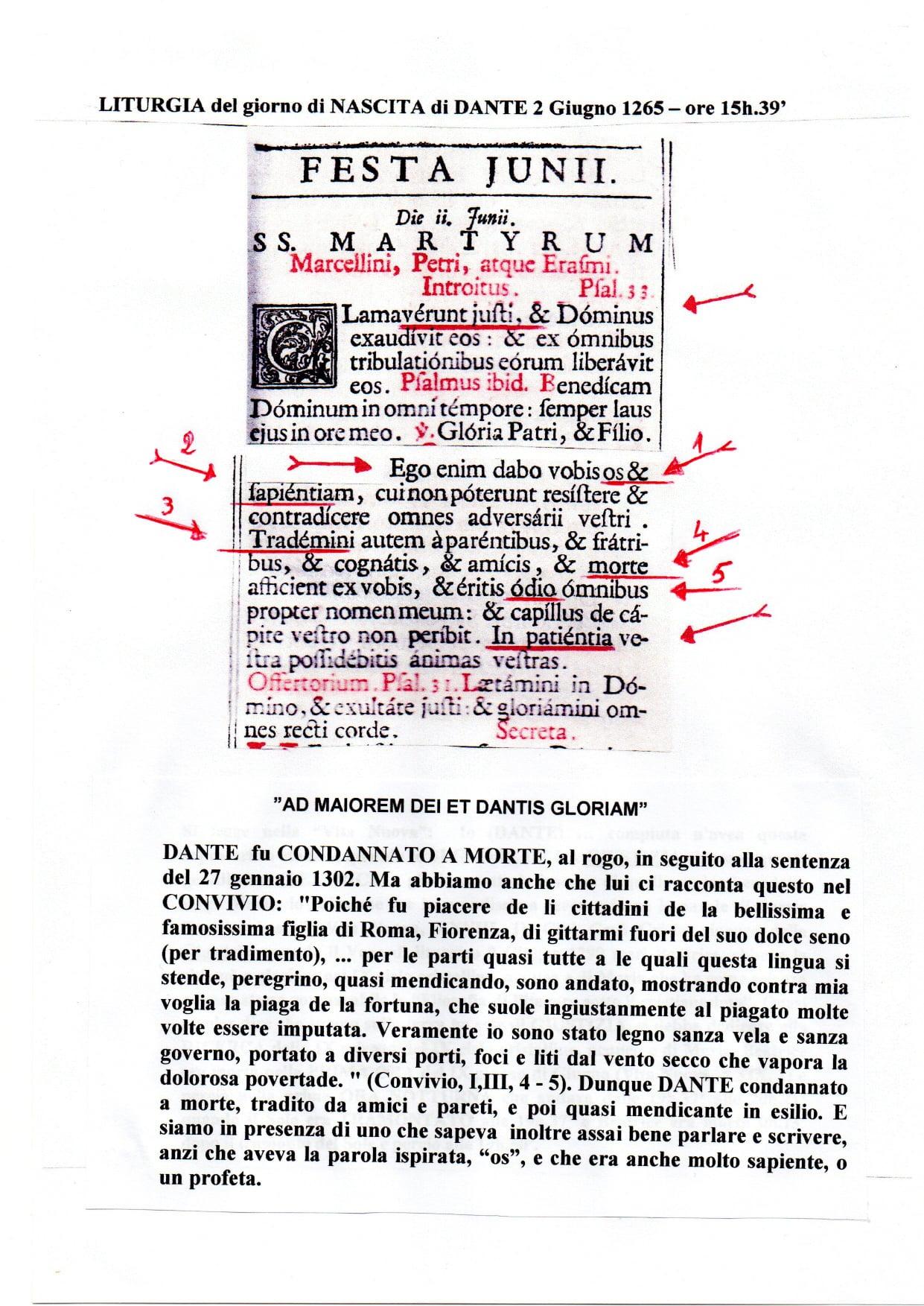 liturgia del 2 giugno 1265